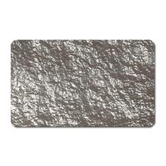 Crumpled Foil 17b Magnet (rectangular) by MoreColorsinLife