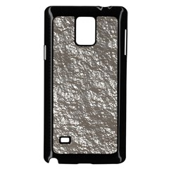 Crumpled Foil 17b Samsung Galaxy Note 4 Case (black) by MoreColorsinLife