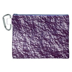 Crumpled Foil 17f Canvas Cosmetic Bag (xxl) by MoreColorsinLife