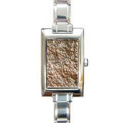 Crumpled Foil 17a Rectangle Italian Charm Watch