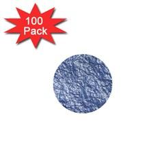 Crumpled Foil 17d 1  Mini Buttons (100 Pack)  by MoreColorsinLife