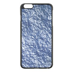 Crumpled Foil 17d Apple Iphone 6 Plus/6s Plus Black Enamel Case by MoreColorsinLife