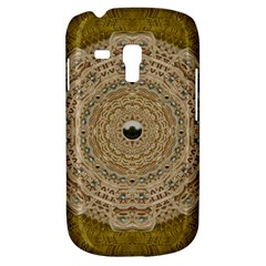 Golden Forest Silver Tree In Wood Mandala Galaxy S3 Mini by pepitasart