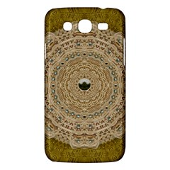 Golden Forest Silver Tree In Wood Mandala Samsung Galaxy Mega 5 8 I9152 Hardshell Case  by pepitasart