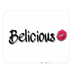 Belicious Logo Double Sided Flano Blanket (large)  by beliciousworld