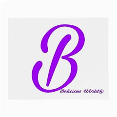 Belicious World  b  Purple Small Glasses Cloth (2 Side) by beliciousworld