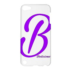 Belicious World  b  Purple Apple Ipod Touch 5 Hardshell Case by beliciousworld