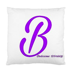 Belicious World  b  Blue Standard Cushion Case (one Side) by beliciousworld