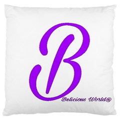 Belicious World  b  Blue Standard Flano Cushion Case (two Sides) by beliciousworld
