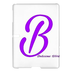Belicious World  b  Blue Samsung Galaxy Tab S (10 5 ) Hardshell Case  by beliciousworld