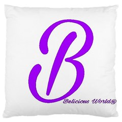 Belicious World  b  Coral Large Cushion Case (one Side) by beliciousworld