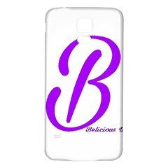 Belicious World  b  Coral Samsung Galaxy S5 Back Case (white)