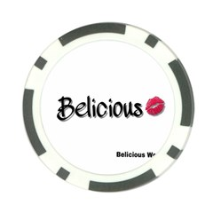 Belicious World Logo Poker Chip Card Guard by beliciousworld