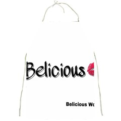 Belicious World Logo Full Print Aprons by beliciousworld