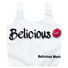 Belicious World Logo Full Print Recycle Bags (l)  by beliciousworld