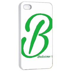 Belicious World  b  In Green Apple Iphone 4/4s Seamless Case (white) by beliciousworld