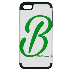 Belicious World  b  In Green Apple Iphone 5 Hardshell Case (pc+silicone) by beliciousworld