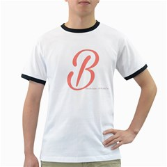 Belicious World  b  In Coral Ringer T Shirts