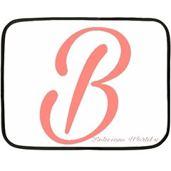 Belicious World  b  In Coral Fleece Blanket (mini) by beliciousworld