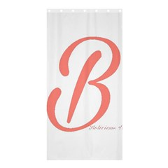 Belicious World  b  In Coral Shower Curtain 36  X 72  (stall)  by beliciousworld