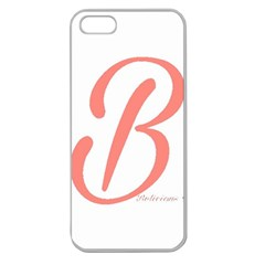 Belicious World  b  In Coral Apple Seamless Iphone 5 Case (clear) by beliciousworld