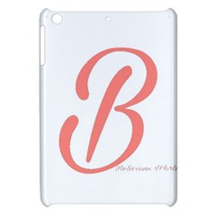Belicious World  b  In Coral Apple Ipad Mini Hardshell Case by beliciousworld