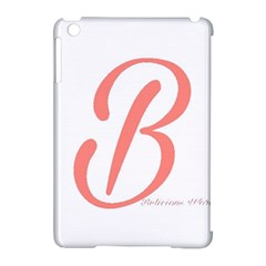 Belicious World  b  In Coral Apple Ipad Mini Hardshell Case (compatible With Smart Cover) by beliciousworld