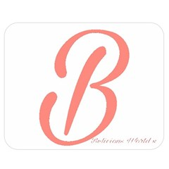 Belicious World  b  In Coral Double Sided Flano Blanket (medium)  by beliciousworld