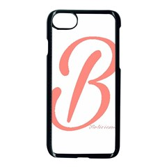 Belicious World  b  In Coral Apple Iphone 7 Seamless Case (black) by beliciousworld