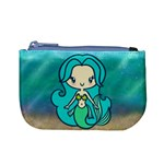 Aquamarine Mermaid Coin Change Purse