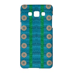 Wood Silver And Rainbows Samsung Galaxy A5 Hardshell Case  by pepitasart