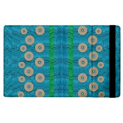 Wood Silver And Rainbows Apple Ipad Pro 9 7   Flip Case by pepitasart