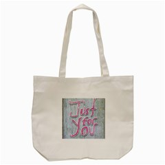Letters Quotes Grunge Style Design Tote Bag (cream) by dflcprints