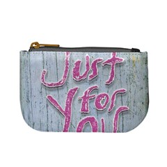 Letters Quotes Grunge Style Design Mini Coin Purses by dflcprints