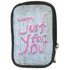 Letters Quotes Grunge Style Design Compact Camera Cases by dflcprints