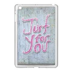 Letters Quotes Grunge Style Design Apple Ipad Mini Case (white) by dflcprints