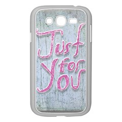 Letters Quotes Grunge Style Design Samsung Galaxy Grand Duos I9082 Case (white) by dflcprints