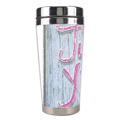 Letters Quotes Grunge Style Design Stainless Steel Travel Tumblers by dflcprints