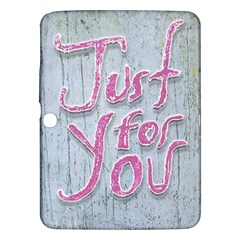 Letters Quotes Grunge Style Design Samsung Galaxy Tab 3 (10 1 ) P5200 Hardshell Case  by dflcprints