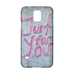 Letters Quotes Grunge Style Design Samsung Galaxy S5 Hardshell Case  by dflcprints