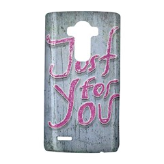 Letters Quotes Grunge Style Design Lg G4 Hardshell Case by dflcprints