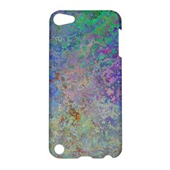 Colorful Pattern Blue And Purple Colormix Apple Ipod Touch 5 Hardshell Case by paulaoliveiradesign
