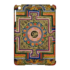 Asian Art Mandala Colorful Tibet Pattern Apple Ipad Mini Hardshell Case (compatible With Smart Cover) by paulaoliveiradesign