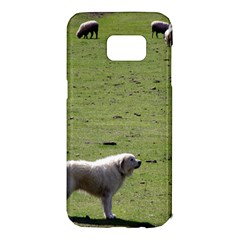 Great Pyrenees Working Samsung Galaxy S7 Edge Hardshell Case by TailWags