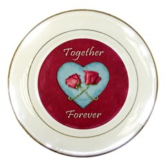 Love Concept Design Porcelain Plates by dflcprints