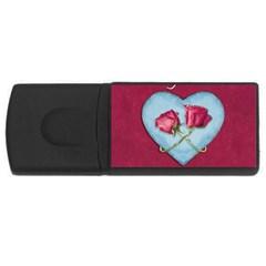 Love Concept Design Rectangular Usb Flash Drive by dflcprints