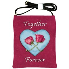Love Concept Design Shoulder Sling Bags by dflcprints