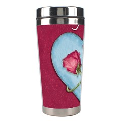 Love Concept Design Stainless Steel Travel Tumblers by dflcprints