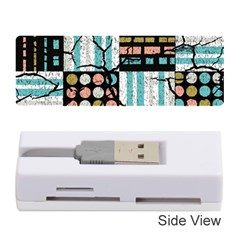 Distressed Pattern Memory Card Reader (stick)  by linceazul