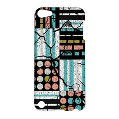Distressed Pattern Apple Ipod Touch 5 Hardshell Case by linceazul